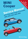 mini cooper service manual 2007 2013 bentley publishers. Black Bedroom Furniture Sets. Home Design Ideas