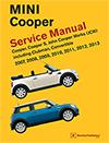 MINI Cooper (R55, R56, R57)<br>Service Manual: 2007, 2008, 2009, 2010, 2011, 2012, 2013