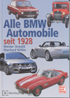 Alle BMW Automobile seit 1928