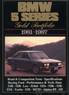 BMW 5 Series Gold Portfolio: 1981-1987