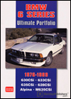 BMW 6 Series Ultimate Portfolio: 1976-1989