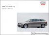 Audi A4 Avant Owner's Manual: 2005
