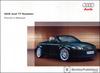 Audi TT Roadster Owner's Manual: 2005