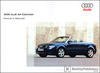 Audi A4 Cabriolet Owner's Manual: 2005