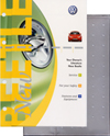 Volkswagen New Beetle Owner's Manual: 2003