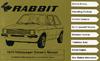 VW RABBIT (DIESEL) 1979 OM