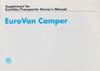 VW EuroVan Camper Suppl 1993 OM