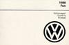 VW FOX 1988 OM