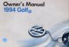 VW GOLF (USA) 1994 OM