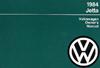 VW JETTA/JETTA 16V W/INS 1984 OM