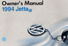 Volkswagen Jetta Owner's Manual: 1994