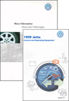 Volkswagen Jetta (A4) Owner's Manual: 1999