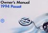VW PASSAT 1994 OM