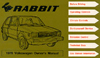 VW RABBIT (GAS) 1979 OM