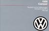 VW CAMPER 1986 OM