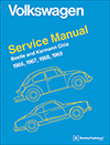 Volkswagen Beetle and<br/>Karmann Ghia (Type 1)<br/>Service Manual:<br/>1966, 1967, 1968, 1969