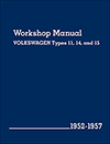 Volkswagen Workshop Manual<br/>Types 11, 14, and 15:<br/>1952, 1953, 1954, 1955, 1956, 1957