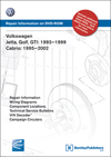 Volkswagen<br>Jetta, Golf, GTI: 1993-1999<br>Cabrio: 1995-2002<br>Repair Manual on DVD-ROM