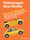 VW New Beetle Service Manual 98-10