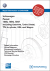 Volkswagen Passat<br>1995, 1996, 1997<br>including Gasoline, Turbo Diesel<br>TDI 4-cylinder, VR6, and Wagon<br>Repair Manual on DVD-ROM
