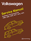 Volkswagen Fastback and Squareback (Type 3)<BR/>Service Manual:<br/> 1968, 1969, 1970, 1971, 1972, 1973
