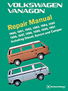 Volkswagen Vanagon (T3)<br/>Repair Manual:<br/>1980, 1981, 1983, 1983, 1984, 1985,<br/>1986, 1987, 1988, 1989, 1990, 1991