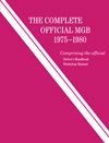 The Complete Official MGB: 1975-1980
