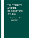 The Complete Official<br/>MG Midget 1500:<br/>1975, 1976, 1977, 1978, 1979