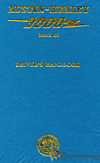 Austin-Healey 3000 Mk III Driver's Handbook: 1964-1968