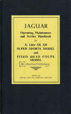 Jaguar XK 120 Driver's Handbook: 1949-1954