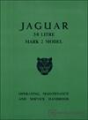 Jaguar Mark II 3.8 Driver's Handbook: 1960-1966