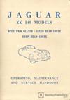 Jaguar XK 140 Driver's Handbook: 1954-1957