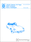 Jaguar E-Type Series 3 V12 Open 2-Seater Spare Parts Catalogue: 1971-1974