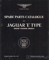 Jaguar E-Type Series 1 3.8 Spare Parts Catalogue: 1961-1964