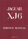Jaguar XJ6 Series 1 2.8 and 4.2 Service Manual: 1969-1973