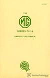 MGA 1500 Driver's Handbook: 1960
