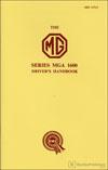 MGA 1600 Driver»s Handbook
