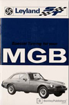 MGB Tourer and MGB GT Special Tuning Manual: 1975-1980