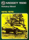 MG Midget 1500 Workshop Manual: 1975-1979