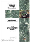 Land Rover Defender Official Workshop Manual: 1993-1995
