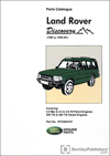 Land Rover Discovery Parts Catalogue (1989 to 1998 MY)