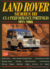 Land Rover Series III 4x4 Performance Portfolio: 1971-1985