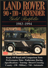 Land Rover 90, 110, Defender Gold Portfolio: 1983-1994