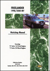 Land Rover Freelander 98-00 Manual