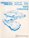 Triumph TR7 Parts Catalogue: 1979-1981