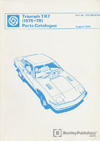 Triumph TR7 Parts Catalogue: 1975-1978
