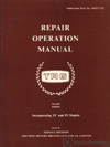 Triumph TR6 Repair Operation Manual: 1967-1976