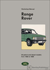 Range Rover Workshop Manual: 1986-1989
