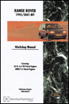 Range Rover Official Workshop Manual: 1995-2001
