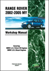 Range Rover<br/>Official Workshop Manual:<br/>2002, 2003, 2004, 2005